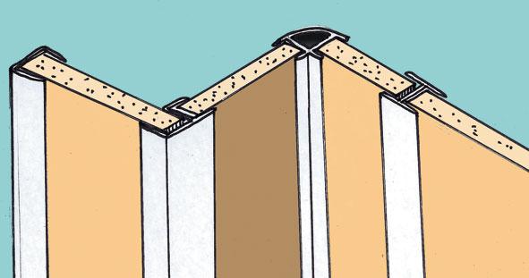 prunier system habillage finition. Black Bedroom Furniture Sets. Home Design Ideas